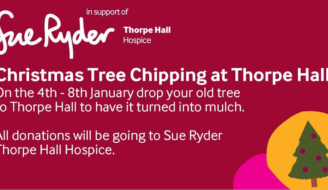 Charity Christmas Tree Chipping!